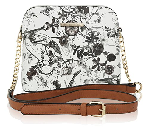 Crossbody white Collection Mia by MKF Black Delilah K Farrow q7E8Ew