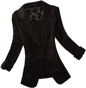 Fineday Coat Cardigan for Women, Women Blazer Tops Long Sleeve Jacket Ladies Office Wear Cardigan Coat, Jackets and Coats