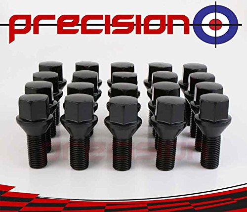 20 x Black Chrome Wheel Bolts for Ṿauxhall Astra Part No. 20BM17B123 Precision