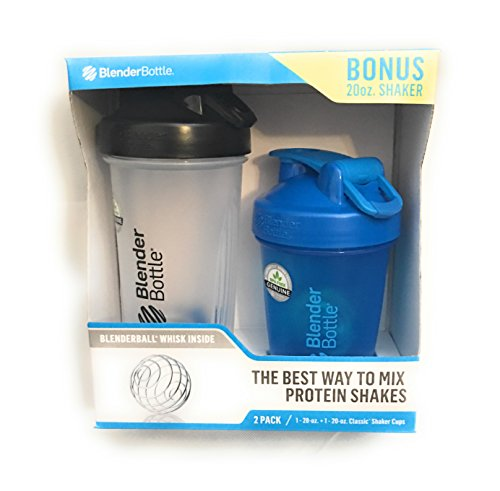 BlenderBottle Blenderball Whisk Shaker With 20 oz Bonus Shaker Review
