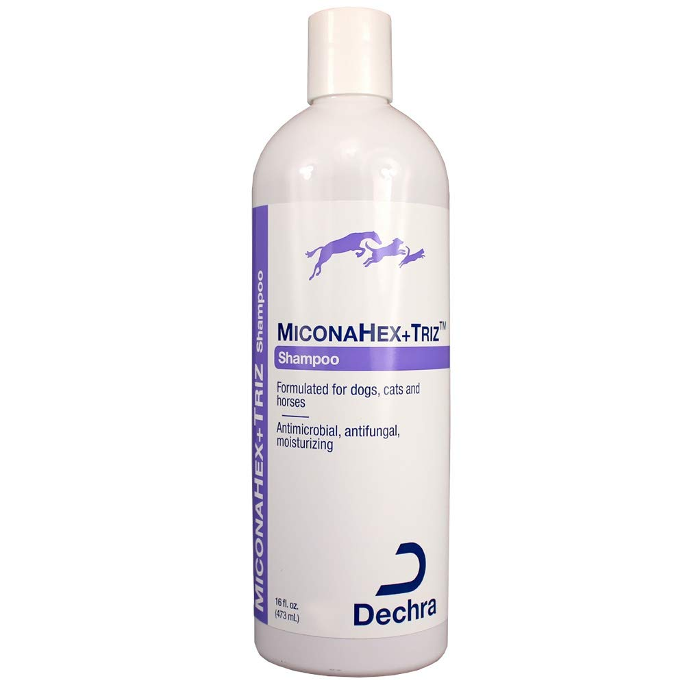 Dechra MiconaHex Triz Shampoo for Cats and Dogs 16 oz