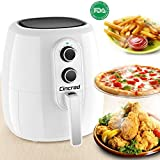 Cheap 2018 Professional Air Fryer XL 5 Liter, 5.3 Quart, Extra Large Capacity 1800 Watt Hot Airfryer cooker, Dry Fryer Oven Pot, No Oil frying Healthy Delicious Food, Easy Cook for 7 People (White)