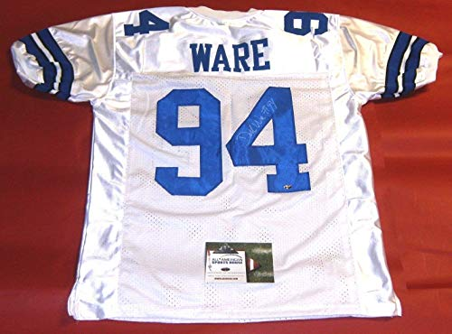 DEMARCUS WARE AUTOGRAPHED DALLAS COWBOYS JERSEY AASH LAST ONE ()