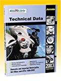 img - for Motorcycle Data Manual/1989-2003 Models (North America) (Autodata Motorcycle Data Manual (North America)) book / textbook / text book