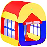 Glamore Tents for Kids, 1-5 years old children Toys, Indoor Outdoor Toddler Pop Up play Tent/House Beach Garden Grassland Tents (1 Pack)