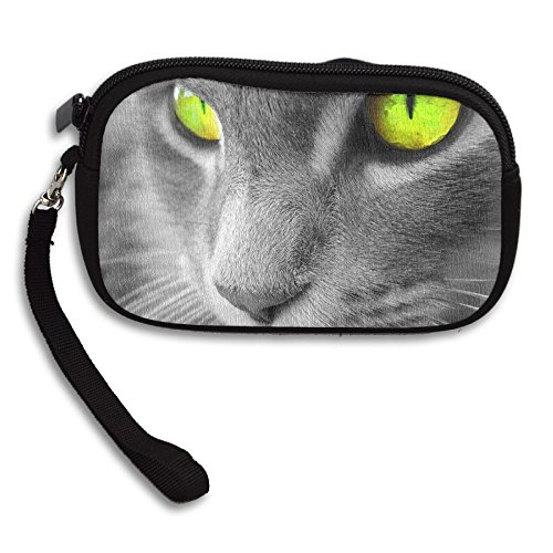 Purse Portable Bag Cats Small Amazing Printing Eye Deluxe Green Receiving PxSzYq0