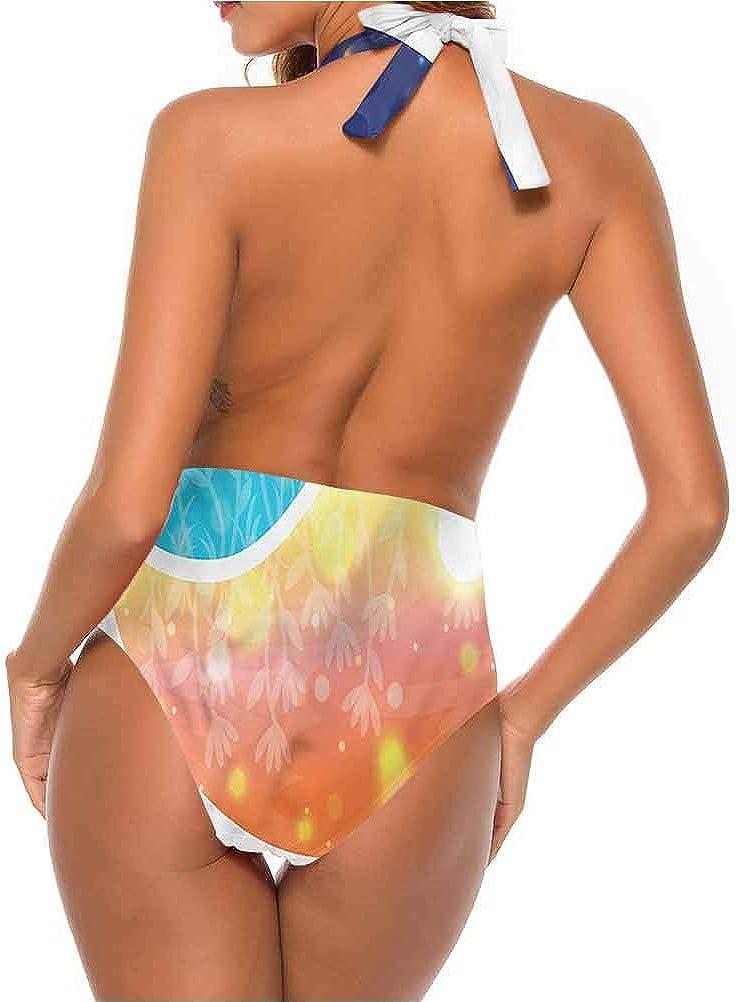 Ensemble de bikini pour femme avec système solaire et planètes Multi 18