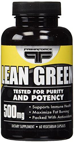 Primaforce, Lean Green Capsules, 60 Count