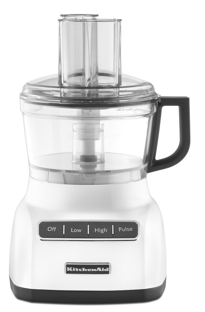 KitchenAid RKFP0711WH 7-Cup Food Processor - White (Certified Refurbished)
