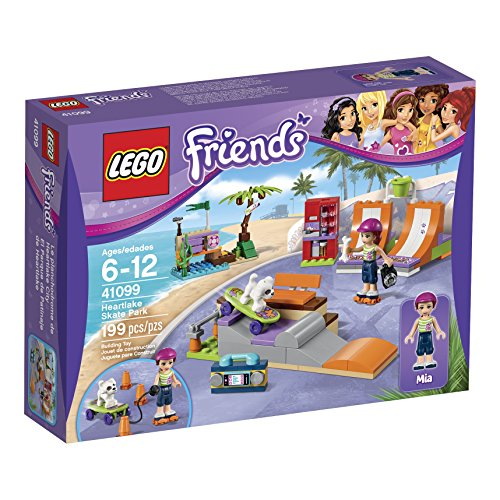 LEGO Friends 41099 Heartlake Skate Park Building Kit (Set Pipe Tune)