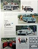Studebaker Lark, 50's Full Page Color Illustration, 10 1/2