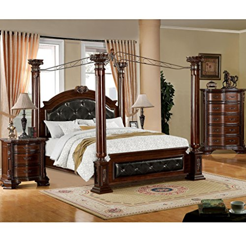 Product reviews buy furniture of america luxury brown for Furniture of america bed reviews