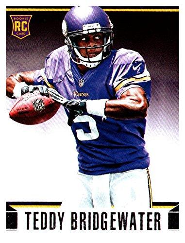 2014 Rookies and Stars Minnesota Vikings Football Card #188B Teddy Bridgewater