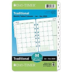 Day-Timer 2020 Monthly Planner Refill, 5...