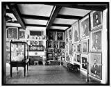 Vintography 8 x 10 Reprinted Old Photo Marine Room East India Marine Hall Peabody Museum Salem Mass. 1915 Detriot Publishing co. 06a
