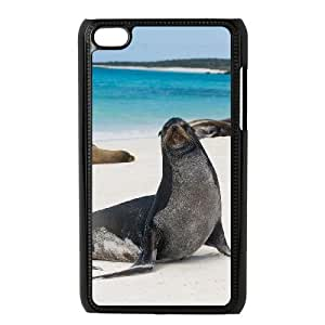Sea lions New Printed Case for Ipod Touch 4, Unique Design Sea lions Case