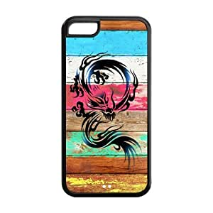 5C Phone Cases, Dragon Hard TPU Rubber Cover Case for iPhone 5C