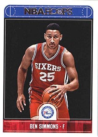 943d85b690d Amazon.com  2017-18 Panini Hoops  2 Ben Simmons Philadelphia 76ers ...