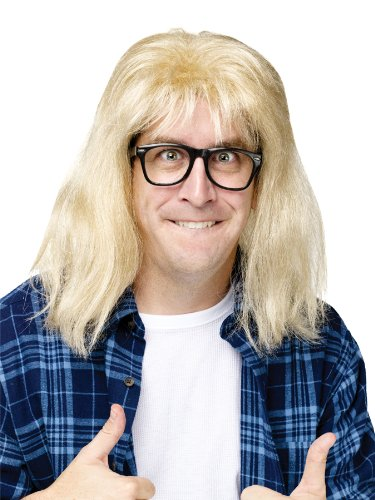 SNL Garth Algar Wig/Glasses -