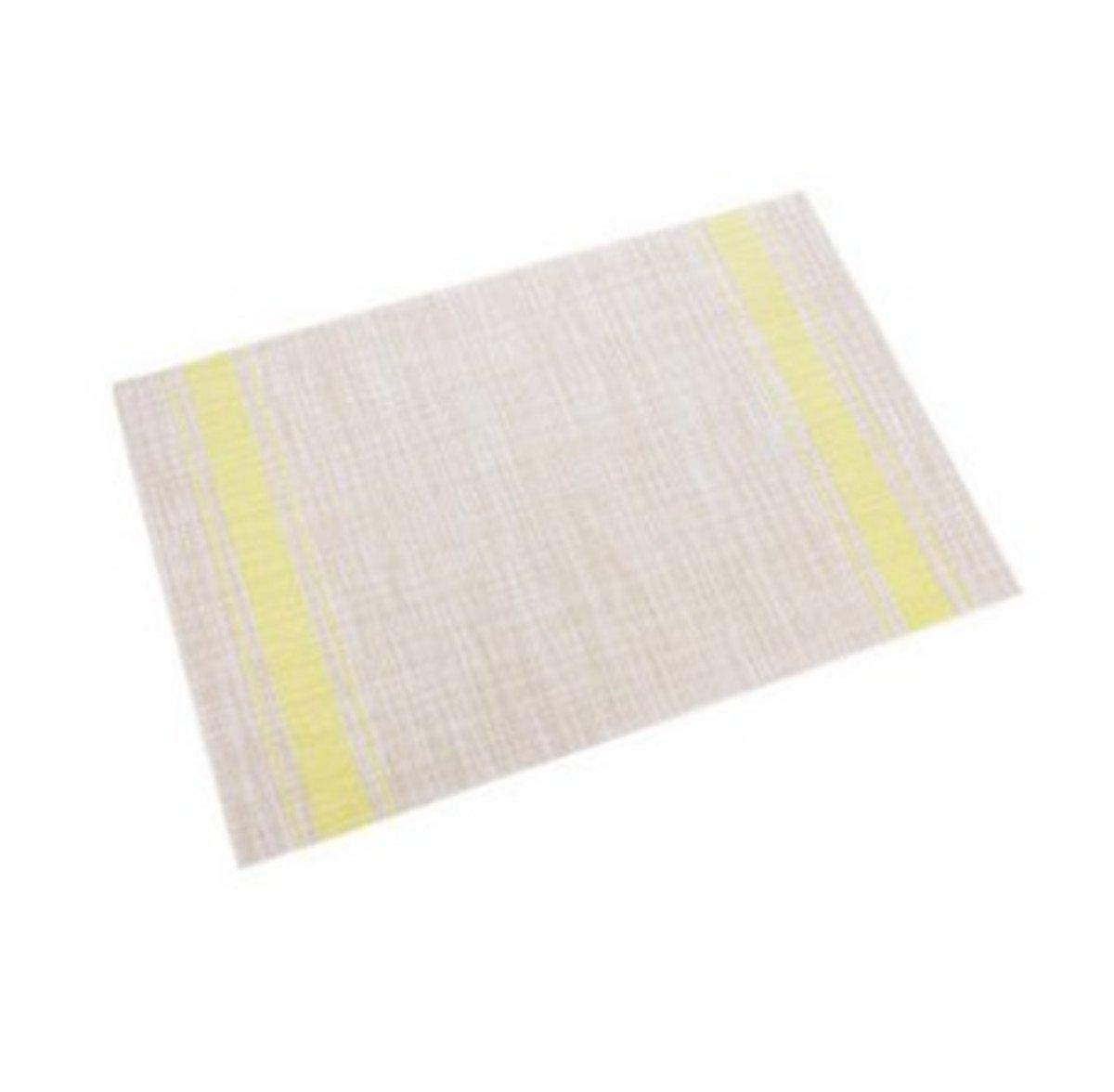 ttgooo PVCプレイスマットキッチンダイニングテーブルマット洗濯可能ヨーロピアンスタイルのセット4  グラスグリーン B075CS6J45