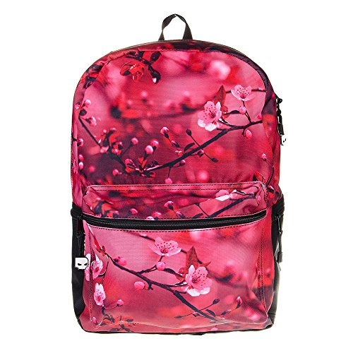 Taille Imprimé Mojo Rose Unique Dos Fleur Sac En A Cherry Blossom Cerisier q11vtrxn