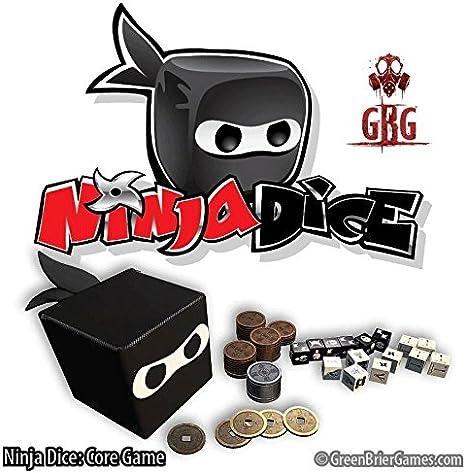 GreenBrier Games Ninja Dice Game
