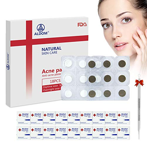 ALDOM Pimple Patch Acne Patch Hydrocolloid Acne Cover Patch Skin Spot Treatment Pimple Patches Day Night Acne Pimple Master Patch Acne Dots Pimple Stickers Acne Cover Patch