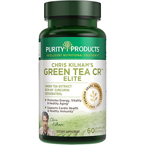 UPC 040232482960, Green Tea CR ELITE (Green Tea + Curcumin + Resveratrol) NEWLY UPDATED - 60 Vegetarian Capsules - 30 Day Supply - from Purity Products