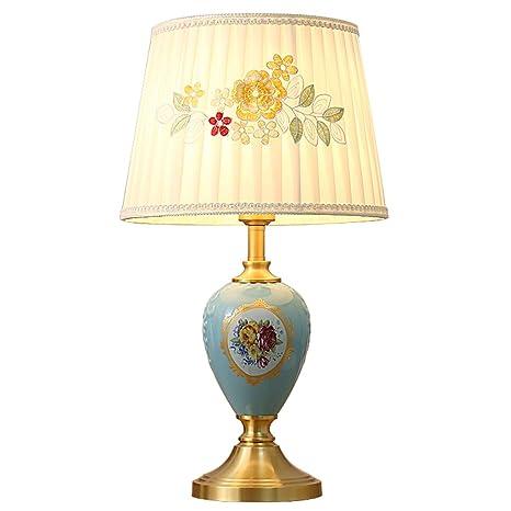 ZR Gran lámpara de Mesa de cerámica Oriental, Sala de Estar ...