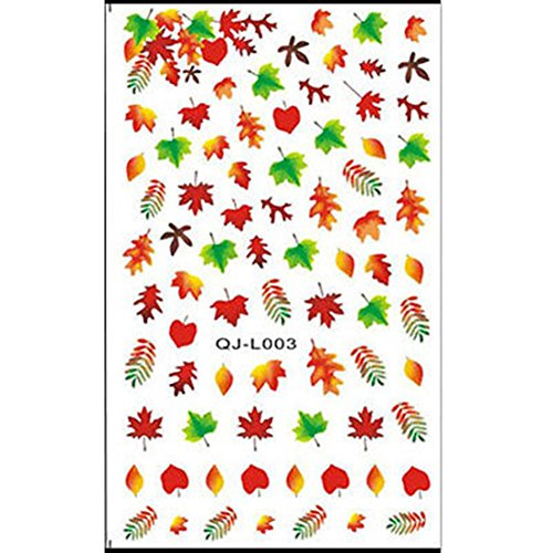 Water Transfer Wraps Art Manicure Polish Decoration Nail Stickers Pattern03