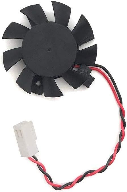 Tricom Cooling Fan w/ 2 Wires 2 Pins for Dahua DVR/HDCVI Motherboard