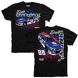 Dale Earnhardt Jr 2017 Darlington Throwback Nationwide NASCAR T-Shirt (Large)