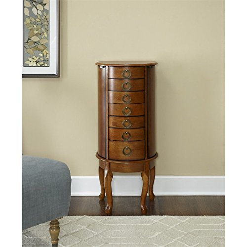 Powell Burnished Oak Jewelry Armoire by Powell (Image #2)