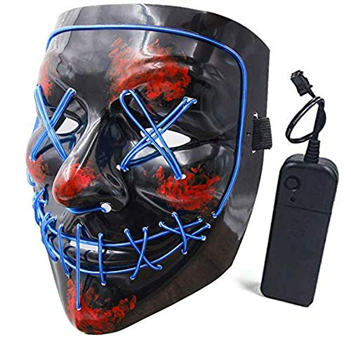 SATKULL-Halloween-Scary-Mask-Cosplay-LED-Costume-Mask-EL-Wire-Light-up-Halloween-Festival-Party