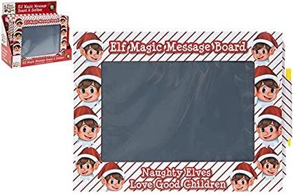 Pull out to wipe off and reuse. CHILDS ELF MAGIC MESSAGE BOARD