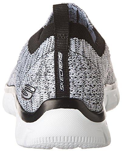 Skechers Empire-Inside Look, Zapatillas Para Mujer blanco/negro