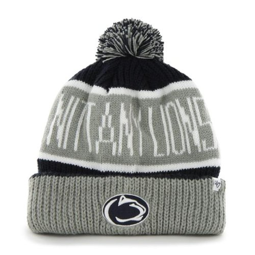 NCAA Penn State Nittany Lions Calgary Cuff Knit Hat, One Size, Navy