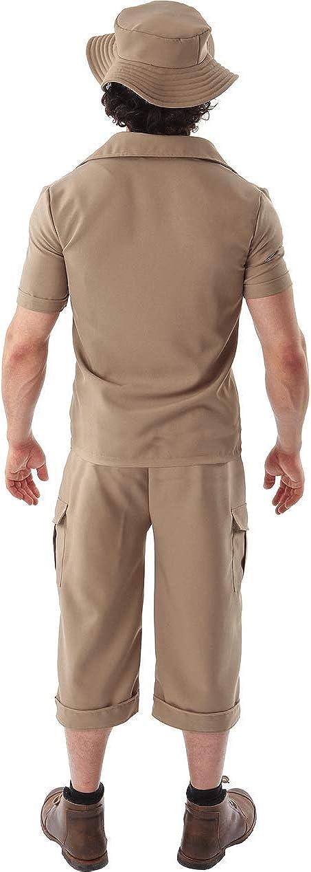 Disfraz Traje de Explorador de la Jungla Safari Caqui Guardián de ...