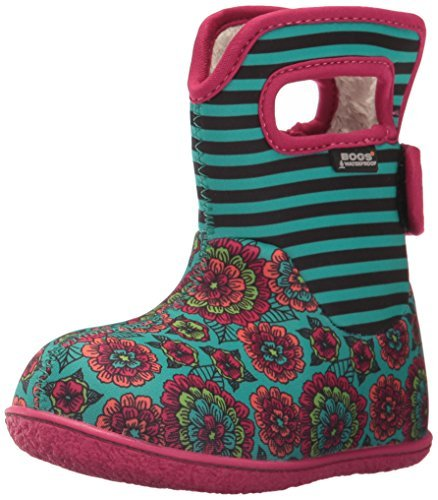 b4f7a4256d6fd Bogs Baby Pansy Boot Emerald Multi 5
