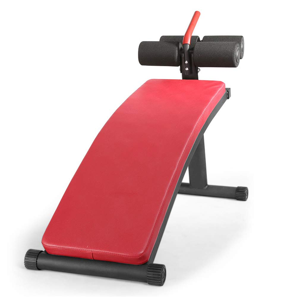 Zhangcaiyun Übungsbank Sit-ups Muskeltraining Fitnessgeräte Bauchmuskelplatte Lazy Supine Board