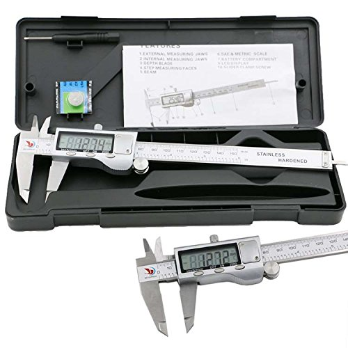 Price comparison product image XYXDI 150mm / 6-inch Stainless Steel Electronic Digital Vernier Caliper Micrometer