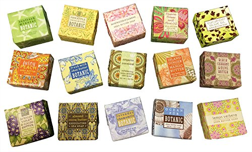 Greenwich Bay Trading Company Soap Sampler 15 pack of 1.9oz - Wedding You Keychains Thank