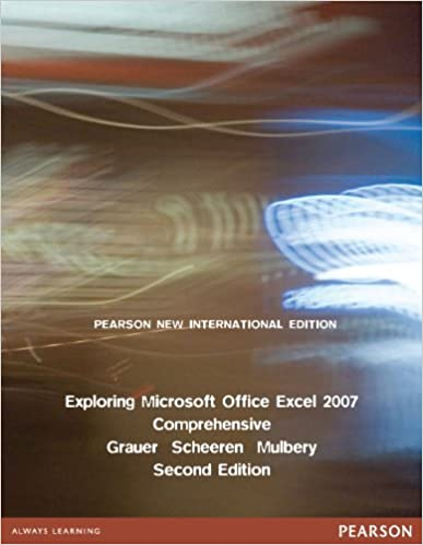 Microsoft Excel 2007 Learning Book Pdf