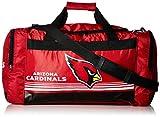 FOCO Arizona Cardinals Medium Striped Core Duffle Bag
