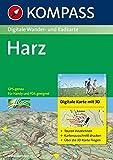 Harz: Digitale Wander- und Radkarte. GPS-genau.