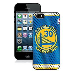 Popular And Unique Custom Designed Case For iPhone 5 5S With Golden State Warriors Stephen Curry 8 Black Phone Case