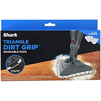 Amazon Com Shark Xtp182 Triangle Dirt Grip Washable Pads