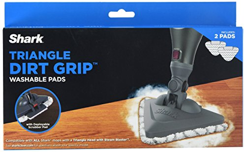 Shark Triangle Dirt Grip Washable Pads  Xtp182
