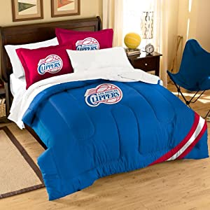 The Northwest Company NBA Los Angeles Clippers Comforter with Shams, Twin/Full