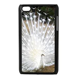 AKERCY King Peacock Bird Phone Case For Ipod Touch 4 [Pattern-2]